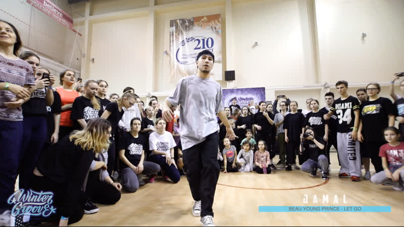 JAMAL WINTER GROOVE DANCE CAMP HIP HOP