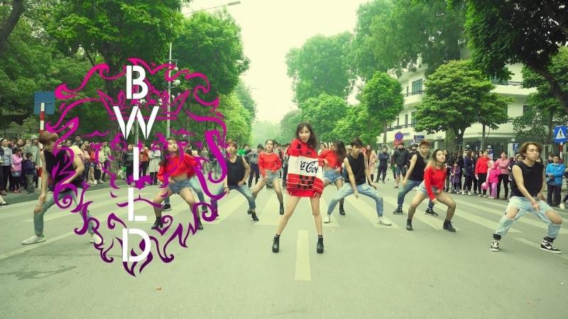 Kpop In Public Challenge HyunA 현아 Lip u0026 Hip Dance Cover By B Wild From Vietnam
