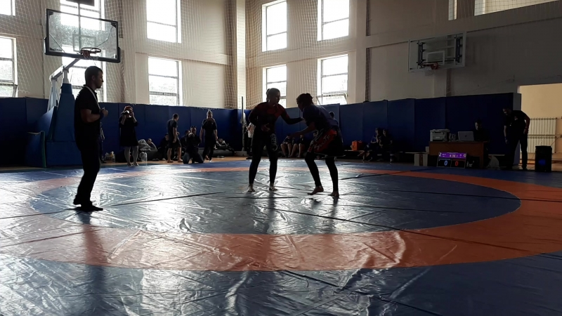 Курская битва 2018_юниоры 65kg_Leonidova VS Pavlova
