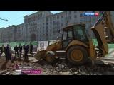 Вести-Москва  •  Остатки мостовой XVI века обнаружили на Тверской улице