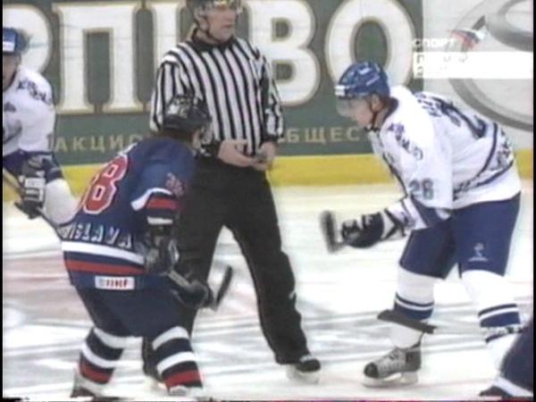 Динамо (Москва) - HC Slovan(Slovakia) КЕЧ 2006-01-05