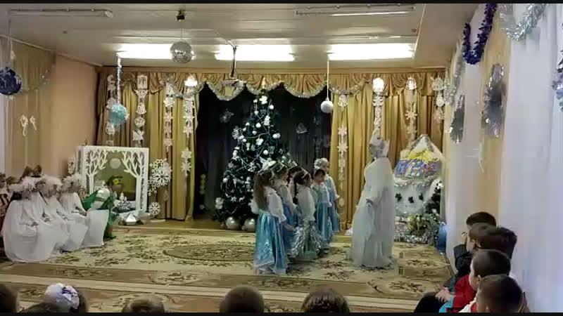 Рождественский концерт в садике