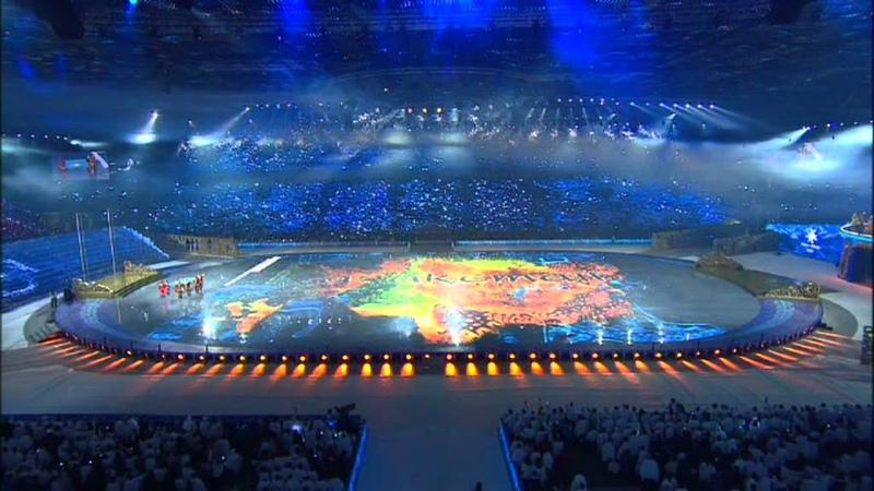 Opening of 2011 Asian Winter Games (2/14) Церемония открытия Зимних Азиатских игр 2011 г. (2/14)