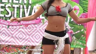 Belly Dance 100% improvisation Nataly Hay Drum Solo Belly Dance dança do ventre