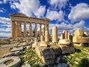 Greece, Athens, Acropolis съемка с вертолета, вид с неба, аэрофотосьемка, видео