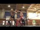HARASHIMA Soma Takao and MAO vs KUDO Yukio Sakaguchi Masahiro Takanashi DDT Road to Ryogoku 2018 ~ Dramatic Dream Tsugaru