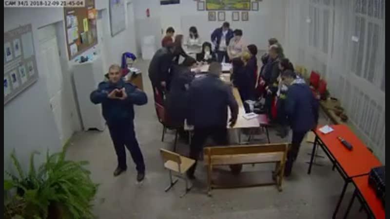 Избирательный участок в Армении