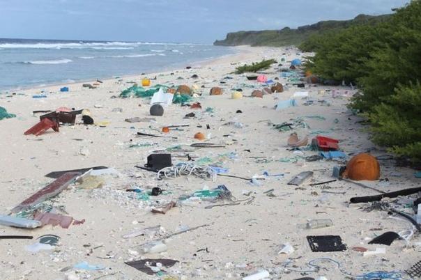 Как думаете, сколько человек живёт на этом острове в Тихом океане