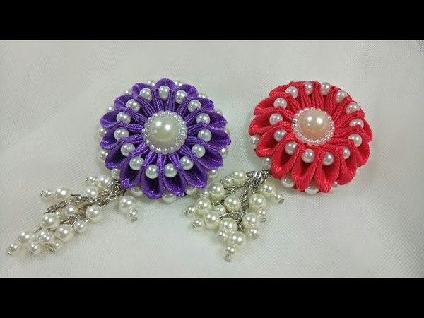 113) Tutorial pearly flower || bunga varian lipat ubur-ubur