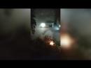 В Димитровграде горят Ауди Q7 и Хендай Equus