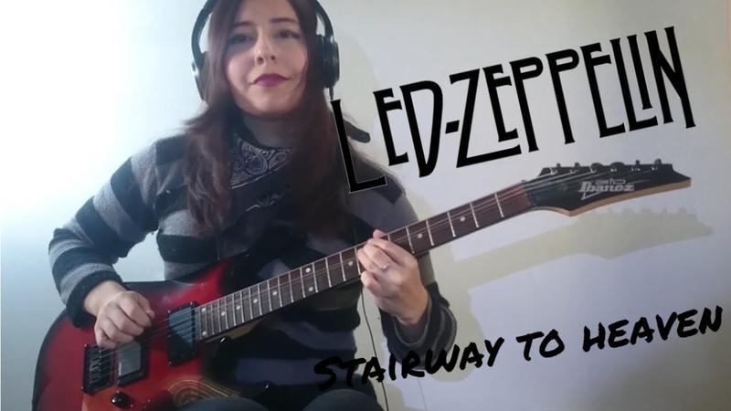 Stairway To Heaven - Led Zeppelin ( Solo Cover ) | Juliana Wilson