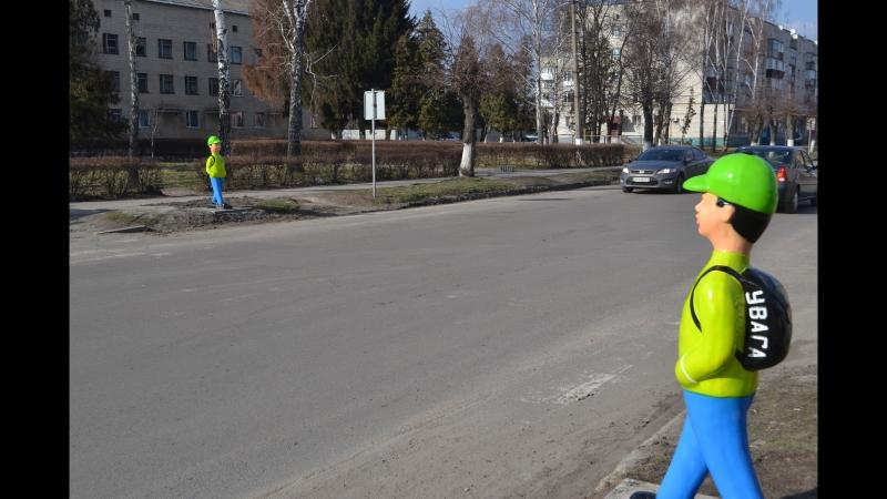 У селищі Володарка благодійним фондом Олександра Ференця встановлено систему безпеки пішохідного переходу