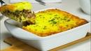 Картофельная запеканка с фаршем Рецепт от Всегда Вкусно