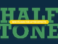 Halftone - plugin for After Effects
