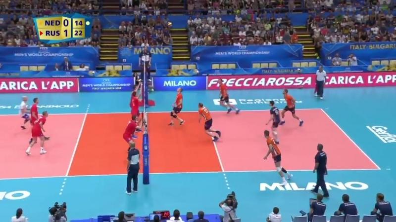 Лучшие моменты матча Россия - Голландия