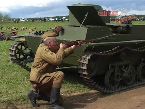 Реконструкция событий ВОВ на военно - историческом фестивале Покровский рубежъ