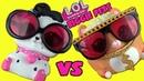 LOL Surprise BIGGIE PETS Opening! DOLLMATION VS M.C. HAMMY 15 Surprises Inside!!