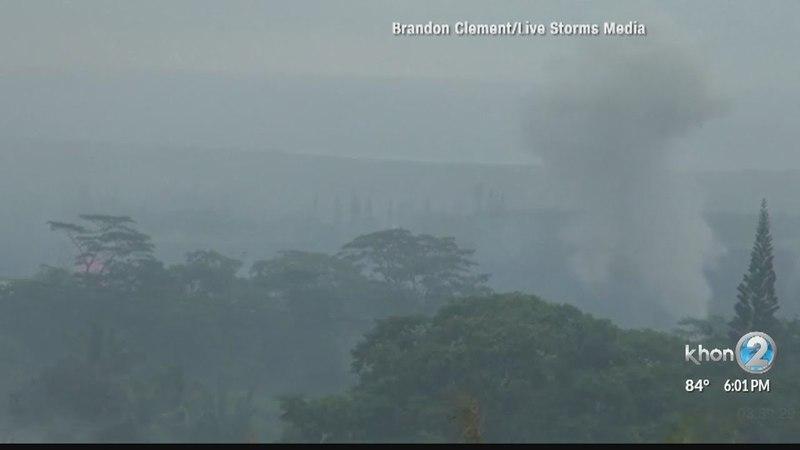 Large explosion at Kilaueas summit likely steam-driven, creating ashfall hazards