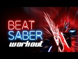 Workout with the new mods to Beat Saber.
