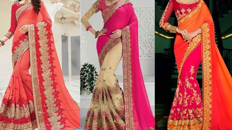 Bollywood Style Saree Draping | 5 Gorgeous Ways to Wear Saree for Party with Thin Perfect Pleats |