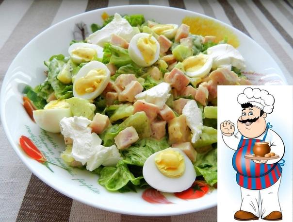 салат оригинальный сохрани крутой рецепт ингредиенты: салатные листья 1 пучок свиной карбонад (или ветчина, куриное мясо) 150 г киви 12 шт. перепелиные яйца 4 шт. мягкий козий сыр фета по
