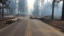 Before After Devastation from California's Camp Fire
