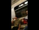 Москва,пустой вагон 😂😂Вот она победа ,что делает👍👍👍