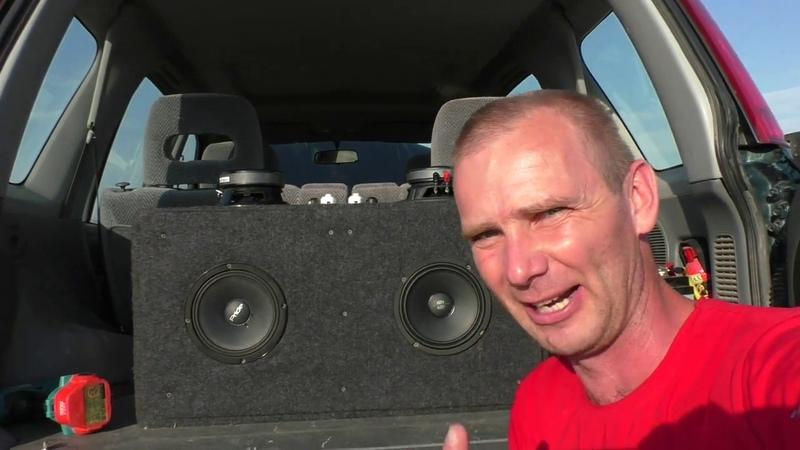 Краш тест Deaf-Bonce AP-M60S (Сильвестр) и Прайд Руби