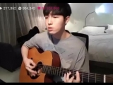 Jaehwan singing BTS's truth untold