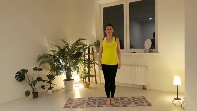 Азбука йоги. Йога для начинающих, эпизод 4 позы стоя (сила гибкость)
