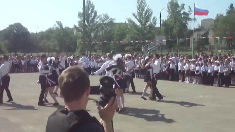 ЗАТО Шиханы - Вальс выпускников СОШ №12, 25.05.2014 год