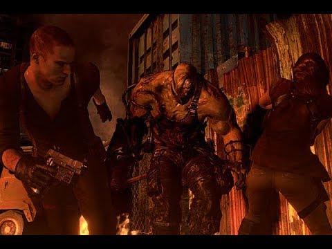 Resident Evil 6 Все Битвы с Боссами Концовка за Джейка и Шерри