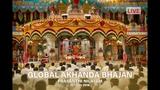 Conclusion of the Global Akhanda Bhajan at Sai Kulwant Hall, Prasanthi Nilayam - 11 Nov 2018