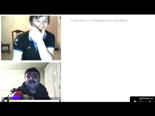 АЗЕРБАЙДЖАНЕЦ в чат рулетке скандальное видео. Азербайджан Azerbaijan Azerbaycan БАКУ BAKU BAKI Карабах