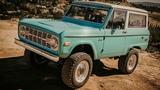 ICON Old School BR Restored &amp Modified Ford Bronco #57!