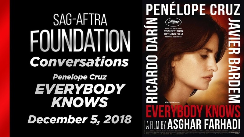 Conversations with Penelope Cruz of EVERYBODY KNOWS