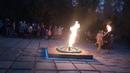 День пам'яті та примирення 2019 - запалення вічного вогню, театральна композиція Свіча