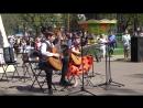 Литвин Егор и Слезкина Лиза Синенький платочек