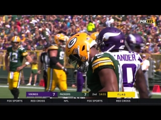 Minnesota Vikings @ Green Bay Packers - Game in 40_720p