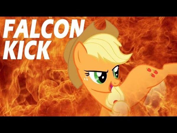 Applejack's Falcon Kick (MLP in real life)