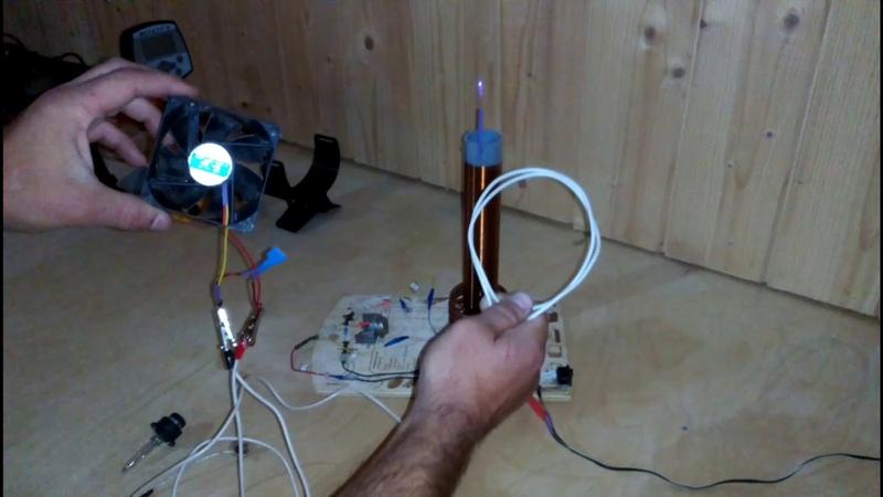Free electricity Качер 3 Попытка зажечь лампу 220 вольт⚡⚡⚡ Часть 1