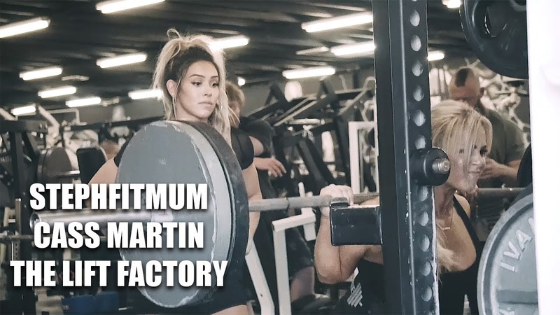 STEPHFITMUM and CASS MARTIN | Stephanie Sanzo and Cass Martin training at The Lift Factory