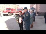День открытых дверей прошёл в 52 пожарной части