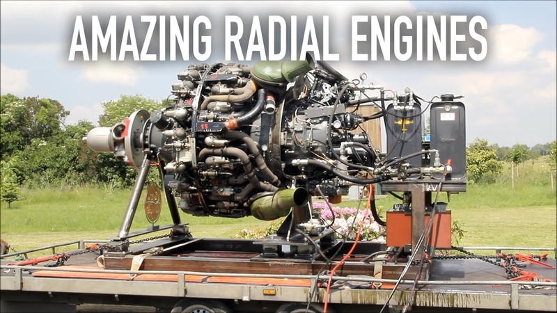 10 Amazing Radial Engines You May Not Know About.