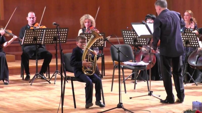 Виталий Снопенко и Камерный оркестр Игоря Лермана