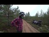 [AcademeG DailyStream] Компрессорный Ренж на газу. Первый раз на квадроцикле.