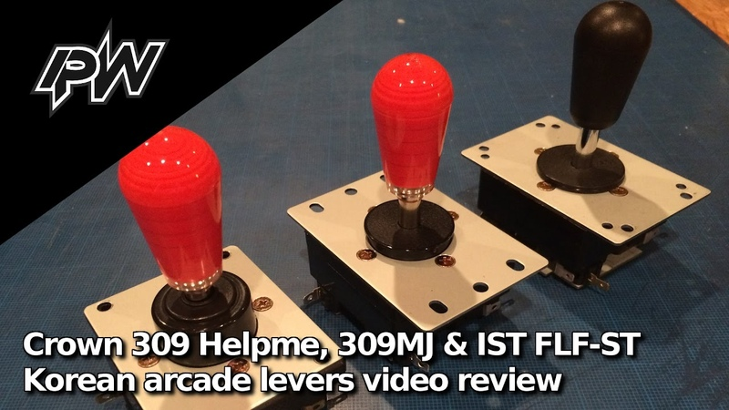 IPW Fight Tech Crown 309 Helpme CWL 309MJ IST FLF ST levers video review