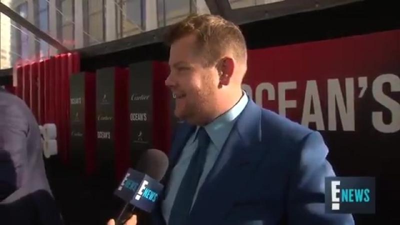Джеймс Корден (James Corden) говорит об участии Рианны в Carpool Karaoke