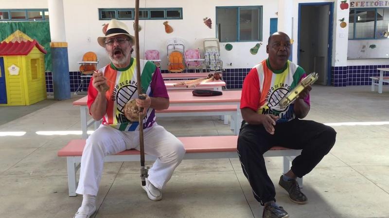 UNICAPOEIRA: Grupo Meia Lua - Fundado em 26abr62. Mestres Polêmico e Mauro. Som. IMG_0698. 07jul18