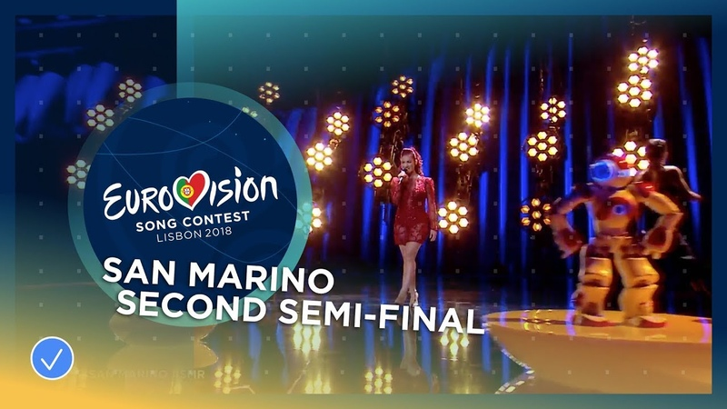 Jessika feat Jenifer Brening Who We Are San Marino LIVE Second Semi Final Eurovision 2018